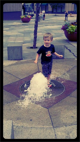 Fountain fun 1