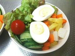 朝食サラダ(2011/7/3)