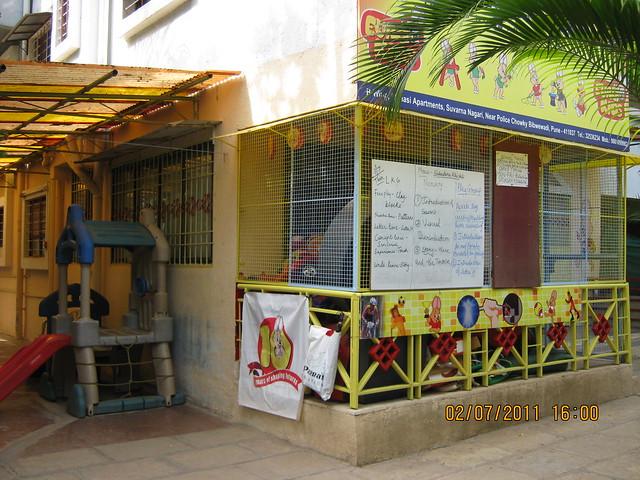 """""""Ero Kids"""" in 1, B Wing, Mansi Apartments, Suvaran Nagari, Swami Vivekanand Road, Bibwewadi, Pune 411 037"""