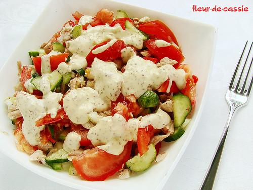 Рецепт салата с курицей и сельдереем
