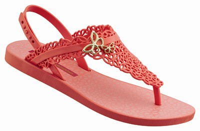 Ipanema GB Butterfly Sandal Fem-red