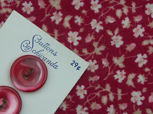 Vintage Laura Ashley strawberry scrap