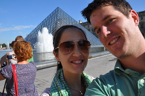 Us Outside the Lourve