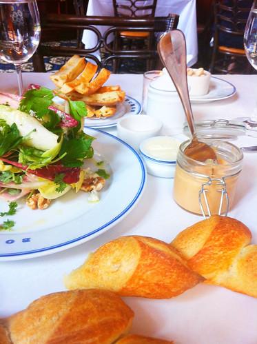 Endive Salad, Foie Gras Terrine, Pain Epi, Bouchon, Las Vegas