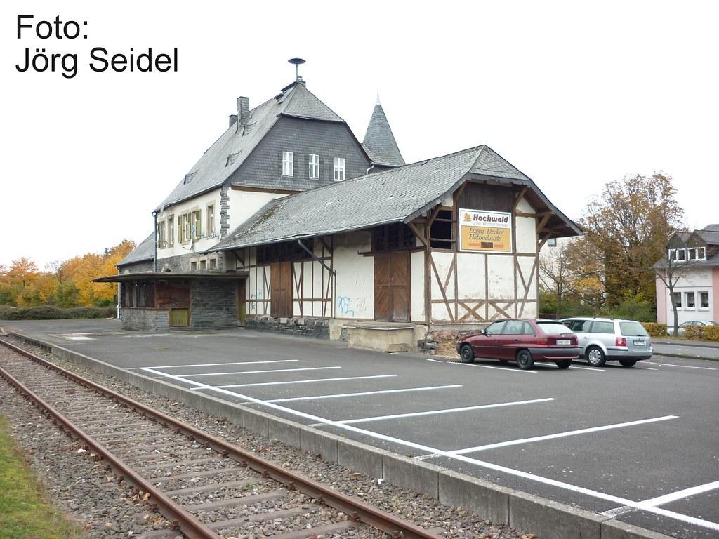 D 54497 Morbach Bahnhof Im Oktober 2009 Joerg Seidel Tags Hunsrck