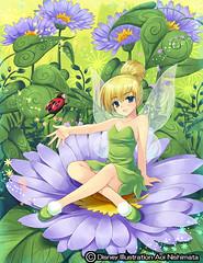 110707(2) - 美少女遊戲插畫家「西又葵」確定獲邀繪製《迪士尼動畫公主》系列,巡迴全球迪士尼樂園展出!