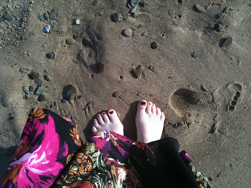 My feet by Yateski