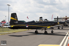 L-12 - 611  Royal Netherlands Air Forice - Pilatus PC-7 - 110702 - Waddington - Steven Gray - IMG_4821