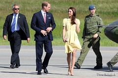 Will and Kate (B) (Wee in YYC) Tags: calgary yyc calgaryinternationalairport cyyc royaltour willandkate dukeandduchessofcambridge