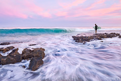 The Jump Off (Luke Austin) Tags: longexposure morning sunrise surfer wave surfing perth northbeach westernaustralia lukeaustin