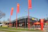 McDonald's Almelo Oost (Netherlands) (Meteorry) Tags: red holland netherlands architecture rouge restaurant design march europe fastfood nederland flags mcdonalds storefront drivethru bigmac paysbas twente overijssel 2012 almelo mcdrive meteorry playzone automac euroknallers laanvaniserlohn drappeax mctrip06
