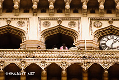 Charminar : Exterior, Hyderabad (artiagarwal) Tags: travel india architecture composition buildings culture frame framing tradition hyderabad charminar incredibleindia