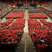 PNC Arena, filled to the max with graduates, family and friends.