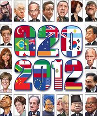 G20 2012 - Caricatures