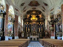Innsbruck Interieur Stifts kerk Abdij