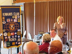 Ashley Robinson presention to Bonita Kiwanis Club (2)