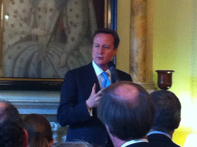 "PM says ""not third sector; first sector"" #bigsocawards"