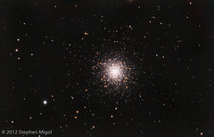 M13 (S Migol) Tags: pentax astrophotography astronomy spencers astrophoto m13 globularcluster smigol messierobject ngc6205 maksutovcassegrain pentaxk10d Astrometrydotnet:status=solved stephenmigol Astrometrydotnet:version=14400 copyright2012 orion127mak Astrometrydotnet:id=alpha20120676659573 fullspectrummodified