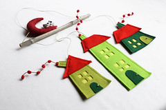 green houses1 (intres08) Tags: home mobile wall casa movil mobil infantil hanging decor decoracion fieltro
