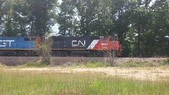 CN 5824 (boysquadxyz) Tags: railroad cn train sub railway grand canadian national western trunk local freight gtw northbound canadiannational subdivision cnic 5847 bogalusa grandtrunkwestern 5824 nogn monticelloms flickrandroidapp:filter=none lawrencecountyms