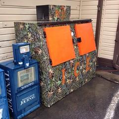 Camo Ice Machine (Joe Architect) Tags: bettyscountrygrocery 2014 favorites yourfavorites walnutcove joesgreatesthits northcarolina nc explored camouflage myfavorites