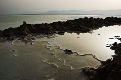 Dead sea (mewario Alex Atlas) Tags: sea sun alex dead israel atlas rise deadsea2 mewario