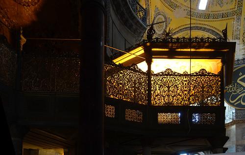 Sultan's passage, Hagia Sophia