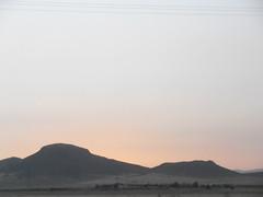 Coucher de soleil (Yassir_) Tags: sunset montagne soleil coucher oujda