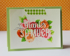 thanks so much green (ctprezzia (Clare)) Tags: paintedflowers