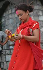 Rishikesh... Floral Offering (submit88) Tags: rishikesh uttarakhand india garhwal gangesriver himalyas yoga spiritual meditation travel floraloffering flower lamp