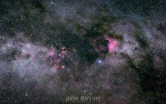 El cisne (Javier Martnez Morn) Tags: deepsky cielo profundo deep sky astrophotography astrofotografia night noche nebulosa nebulae cygnus cisne norteamerica milky way via lactea gredo gredos avila star adventurer skywatcher