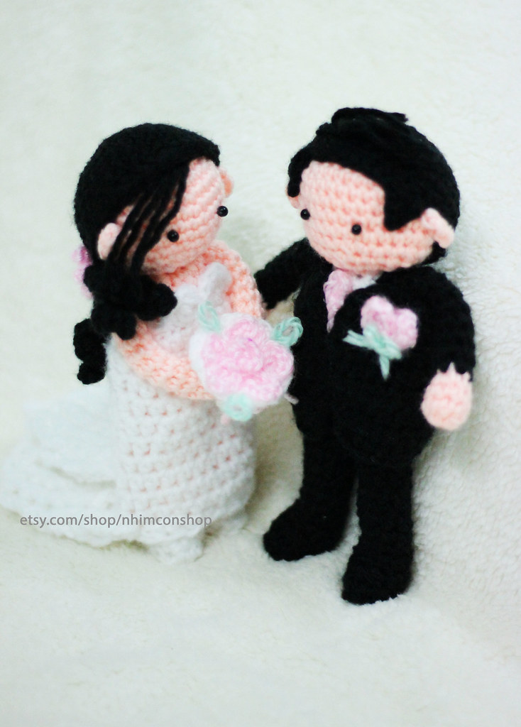 Wedding Gift Bride And Groom Fox Cake Topper Crochet Fox Wedding ... | 1024x734