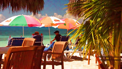 La Dolce Vita (Explored, 10/10/16) (billackerman1) Tags: beach caribbean leisure explore mexico