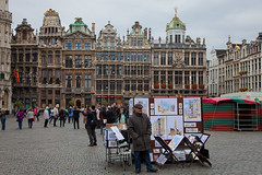 Brussels - La Grand Place (JOAO DE BARROS) Tags: barros joo belgium brussels square people street architecture monument