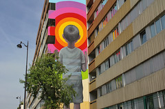 Seth_3103 rue Jeanne d'Arc Paris 13 (meuh1246) Tags: streetart paris seth ruejeannedarc enfant paris13