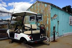 Marina Art, Boston MA (Boston Runner) Tags: boston harbor shipyard marina east art scultpure harborarts gallery 2016 fuels car cart broken peeling blocks