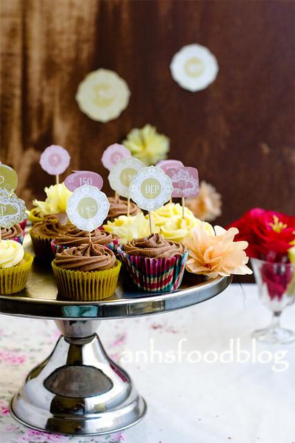 Cupcake - party theme