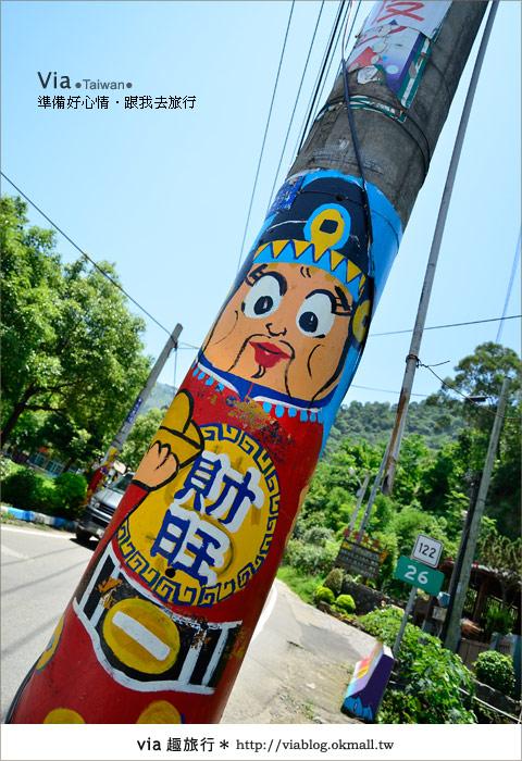 【彩繪客家村】驚豔,彩繪村!新竹竹東鎮軟橋社區尋彩趣39