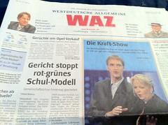 WAZ: Die Kraft-Show