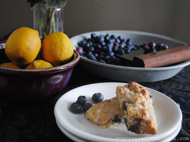 Lemon-Blueberry Scones
