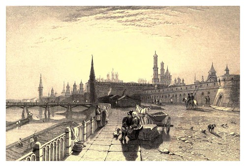 018-El Kremlin desde el muelle-A journey to St. Petersburg and Moscow 1836- Ritchie Leitch