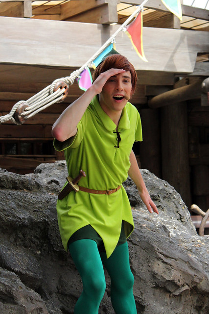Following the Leader with Peter Pan