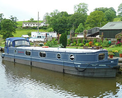 Narrowboat J'ai une vie in the Leeds and Liverpool Canal at East Marton by Tim Green aka atoach