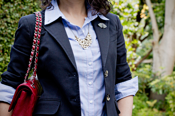 Making a Mini Statement – J.Crew Mini Pearl Supernova Necklace
