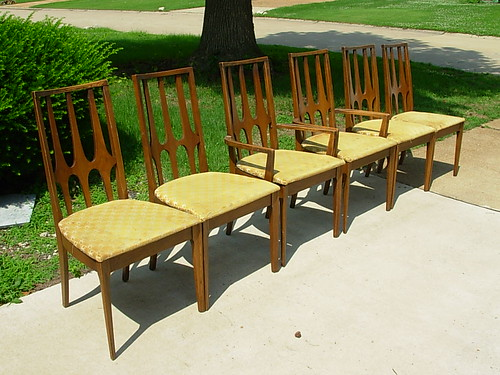 Superbe Broyhill Brasilia Dining Chair Suite. The Whole Set. Just Wanting For A  Table. Status:Update   All Gone.