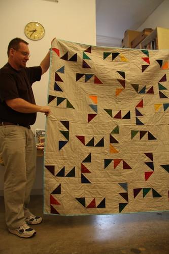 Paul's Kona Challenge quilt by myredbike