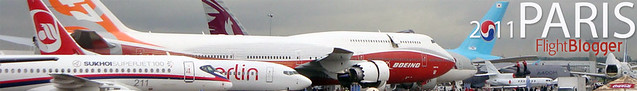 Paris Air Show 2011 Header