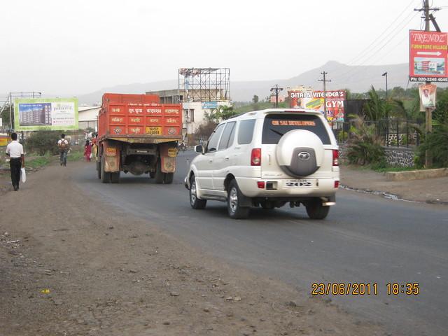 Khadi Machine Chowk (Kondhwa Road) to Undri Chowk Road, Kumar Properties' Kumar Palmcrest - 2 BHK Flats - off Katraj to Saswad Road - behind Savitiri Palace Mangal Karyalaya, Pisoli Gram Panchayat, Pune 411 028