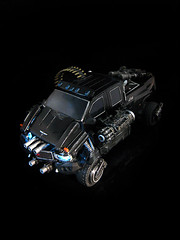 Dark of the Moon : Stealth Force Ironhide (5) (frenzy_rumble) Tags: camera matrix prime transformer evil icestorm hook custom commission seeker fr convoy sunstorm autobot reflector spyglass scavenger nemesis viewfinder mixmaster decepticon scrapper lacquer kitbash shockwave artfire devastator pretender nightstick longhaul cliffjumper bonecrusher spectro combiner enamels skywarp targetmaster thunderwing houseofkolors frenzyrumble fansproject frenzyrumblecom humanalliance procustomizers peaugh midwarp