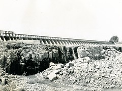 [IDAHO-A-0312] Milner Dam (waterarchives) Tags: gates dam idaho snakeriver irrigation spillway milnerdam minidokaproject bureauofreclamationbor